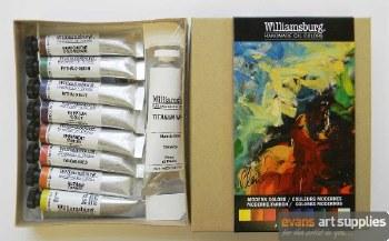 Williamsburg Oil Colour Set - Modern Colour 8x11ml + 37ml