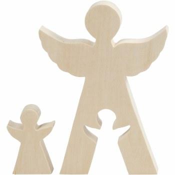 Wooden 2in1 Angel