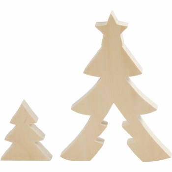Wooden 2in1 Christmas Tree