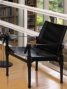 Campaign Leather Chair - Special Exhibits