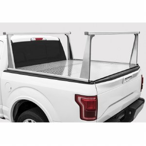 Adarac Aluminum Pro Series Truck Rack - 4000958 - Fits 17-19 Ford Super Duty 8 Foot Box