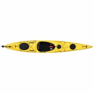 Boreal Design Compass 140 TX Touring Kayak - Yellow and White