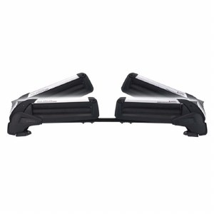 Inno UK723 Dual Angle Naked Roof Ski and Snowboard Rack