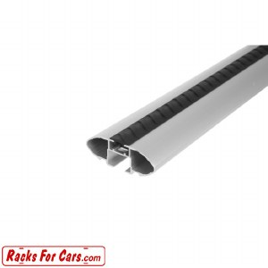 Rhino Rack VA126S 49 Inch Silver Vortex Aero Bar - Single
