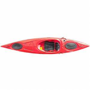 Riot Enduro 12 Kayak with Skeg - Red