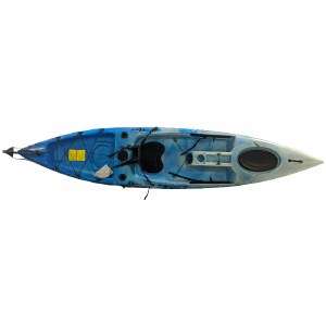 Riot Escape 12 Sit on Top Kayak with Rudder Sky