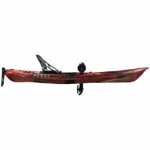 Riot Mako 12 Fishing Kayak with Impulse Pedal Drive - Fire Storm