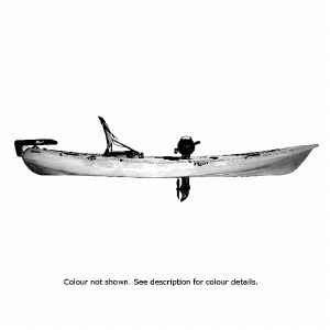 Riot Mako 12 Fishing Kayak with Impulse Pedal Drive - Camo
