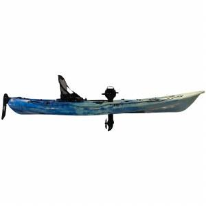 Riot Mako 12 Fishing Kayak with Impulse Pedal Drive - Sky