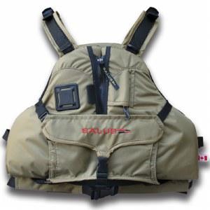 Salus Kayak Angler Paddle Vest - L/XL - Tan