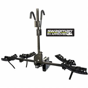 """Swagman 66684 Dispatch - 2 Bike Rack - Fits 2"""" Hitches - RV Approved"""