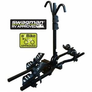 "Swagman 66689 E-Spec - 2 Bike E-Bike Hitch Rack - Fits 2"" hitches"