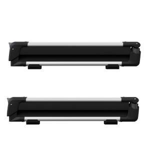 Thule 7324 SnowPack 4 - Roof Mount Ski and Snowboard Carrier
