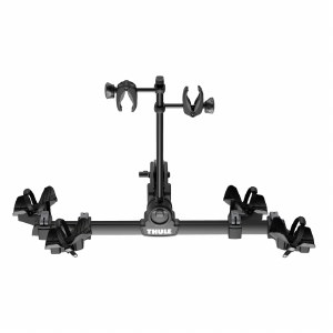 """Thule 9054 DoubleTrack Pro - 2 Bike Hitch Rack - Fits 2"""" and 1.25"""" hitches"""
