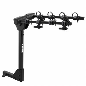 """Thule 9057 Range - 4 Bike Hitch Rack - RV Approved - Fits 2"""" hitches"""