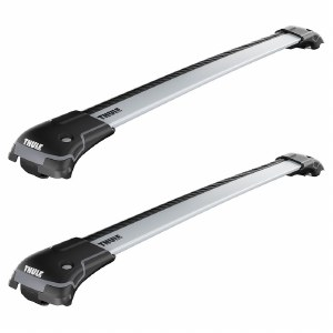 Thule Aeroblade Edge Roof Rack for Raised Rails - Silver