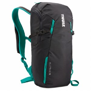 Thule AllTrail 15 Litre Hiking Backpack - Obisidian and Bluegrass