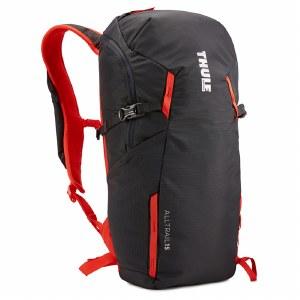 Thule AllTrail 15L Hiking Backpack - Obisidian and Roarange