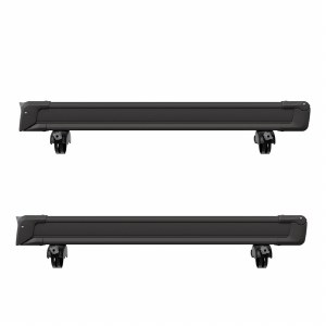 Thule 7326B SnowPack 6 - Roof Mount Ski and Snowboard Carrier - Black