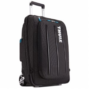 Thule Crossover 38 Litre Rolling Carry On Suitcase - Black