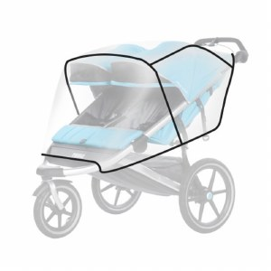 Thule Rain Cover for Double Urban Glide Sport Strollers