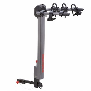 "Yakima LiteRider 3 Bike Hitch Rack - Fits 2"" and 1.25"" hitches"