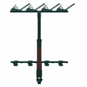 "Yakima HangOver 4 - Vertical Hitch Mounted Bike Rack - Fits 2"" hitches"