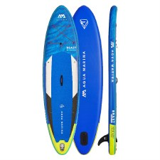 "Aqua Marina Beast 10'6"" Advanced All-Around Inflatable Stand Up Paddle Board"