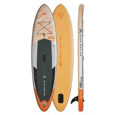 "Aqua Marina Magma 11'2"" Advanced All-Around Inflatable Stand Up Paddle Board"