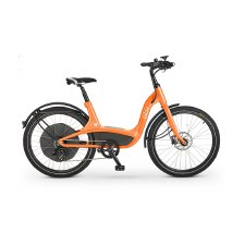 Elby S1 9-Speed - Electric Pedal Assist Bike - Orange