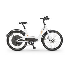 Elby S1 9-Speed - Electric Pedal Assist Bike - White