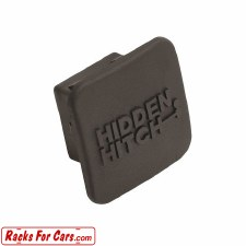 Hidden Hitch 80037 Rubber Hitch Cover - Fits 2 inch Hitches