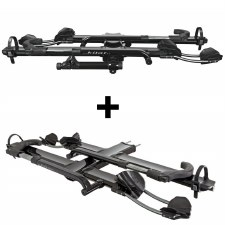 "Kuat NV 2.0 4 Bike Hitch Rack - Fits 2"" Hitches - Black"