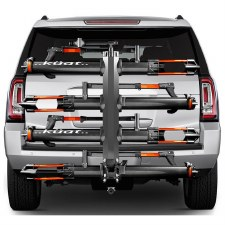"Kuat NV 2.0 4 Bike Hitch Rack - Fits 2"" Hitches - Gray"
