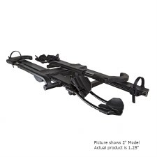 "Kuat NV Base 2.0 2 Bike Hitch Rack - Matte Black - Fits 1.25"" Hitches"