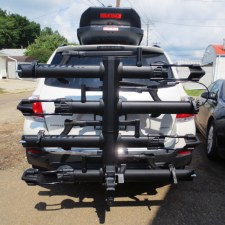 "Kuat NV Base 2.0 4 Bike Hitch Rack - Fits 2"" Hitches - Black"