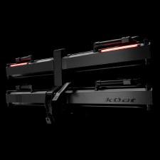 """Kuat Piston Pro X - 2 Bike - Fits 1.25"""" Hitches - Galaxy Grey"""