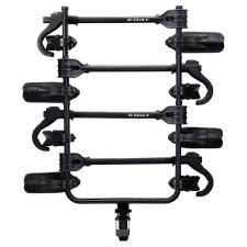 "Kuat Transfer v2 - 4 Bike Hitch Rack - Fits 2"" Hitches - Matte Black"