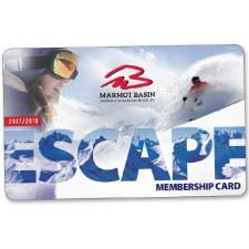 Marmot Basin Escape Card - Half Price Lift Passes - Every Day, All Season