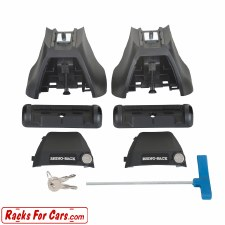 Rhino Rack RLKVAH Leg Kit - Set of 2 Towers - For use with Rhino Rack Vortex Bars