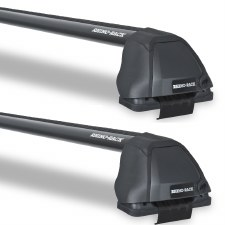 Rhino-Rack Vortex 2500 RS Roof Rack Package - Fits Bare Roofs - Black