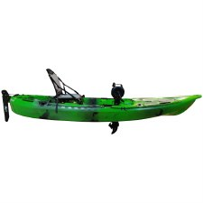Riot Mako 10 Fishing Kayak with Impulse Pedal Drive - Rush