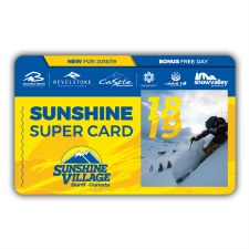 Sunshine Super Card - Ski for FREE on your 1st, 4th, and 7th Visit