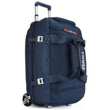 Thule Crossover 56 Litre Rolling Duffel Suitcase - Navy