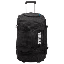 Thule Crossover 56 Litre Rolling Duffel Suitcase - Black