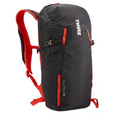 Thule AllTrail 15L Hiking Backpack - Obisidian and Roarange