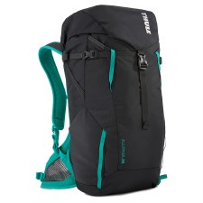 Thule AllTrail 25L Women's Hiking BackPack - Obsidian with Bluegrass