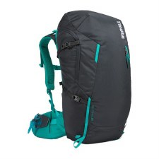 Thule AllTrail 35L Women's Hiking BackPack - Obsidian with Bluegrass