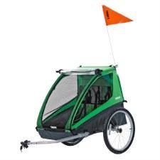 Thule Cadence Bike Trailer for 2 Children - Green