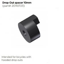 Thule Chariot 3D Dropout Adapter 10mm Spacer